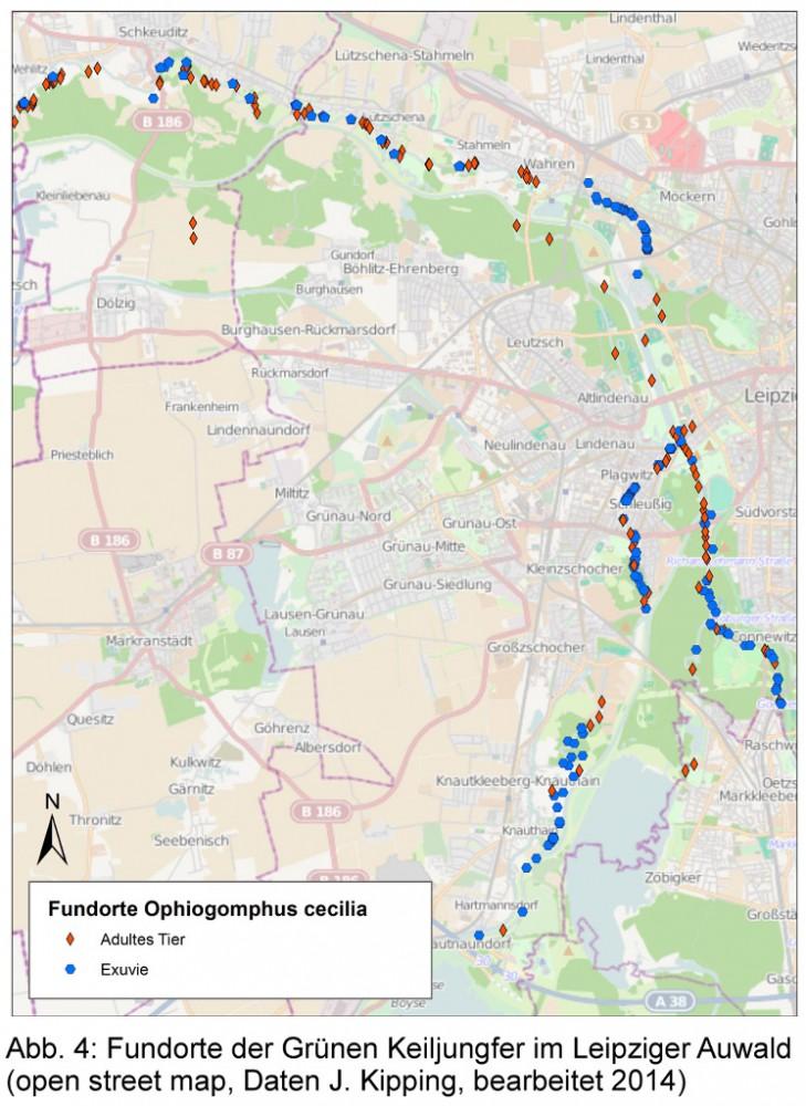 Karte: Openstreetmap; Daten: Jens Kipping