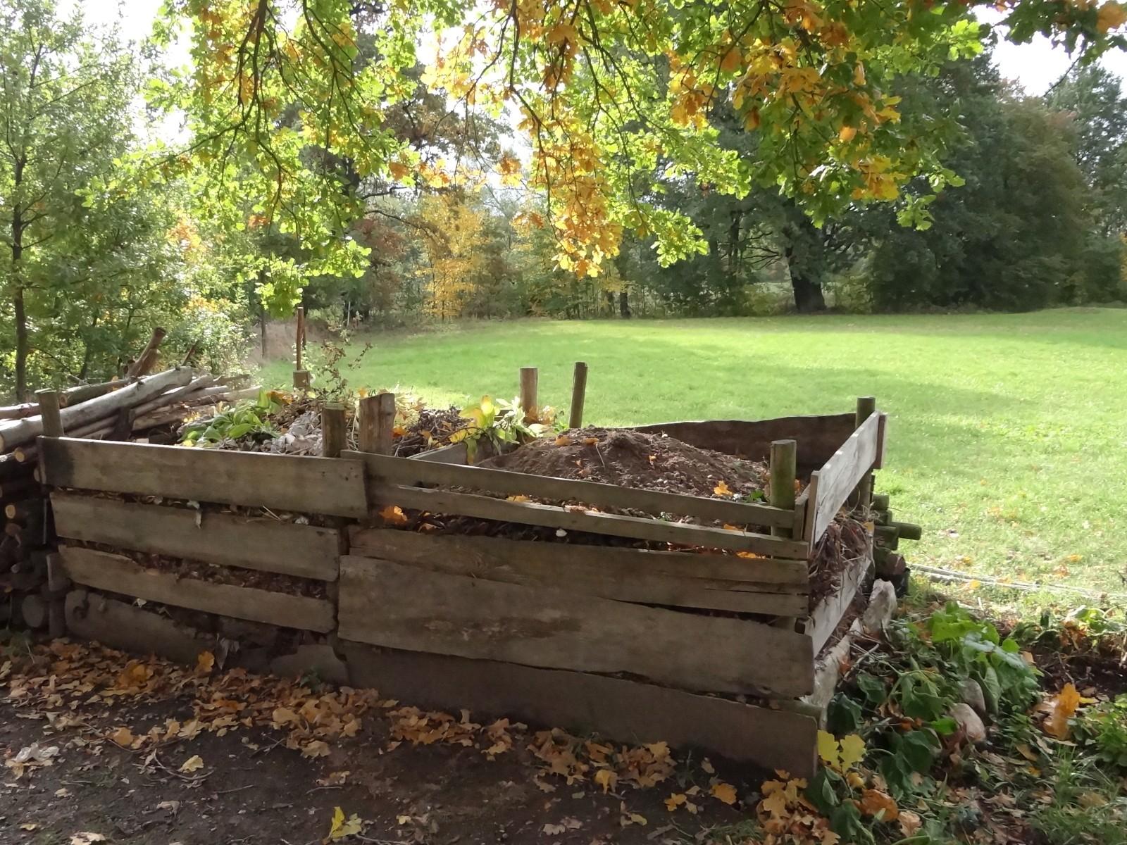 Kompost bei der Auwaldstation