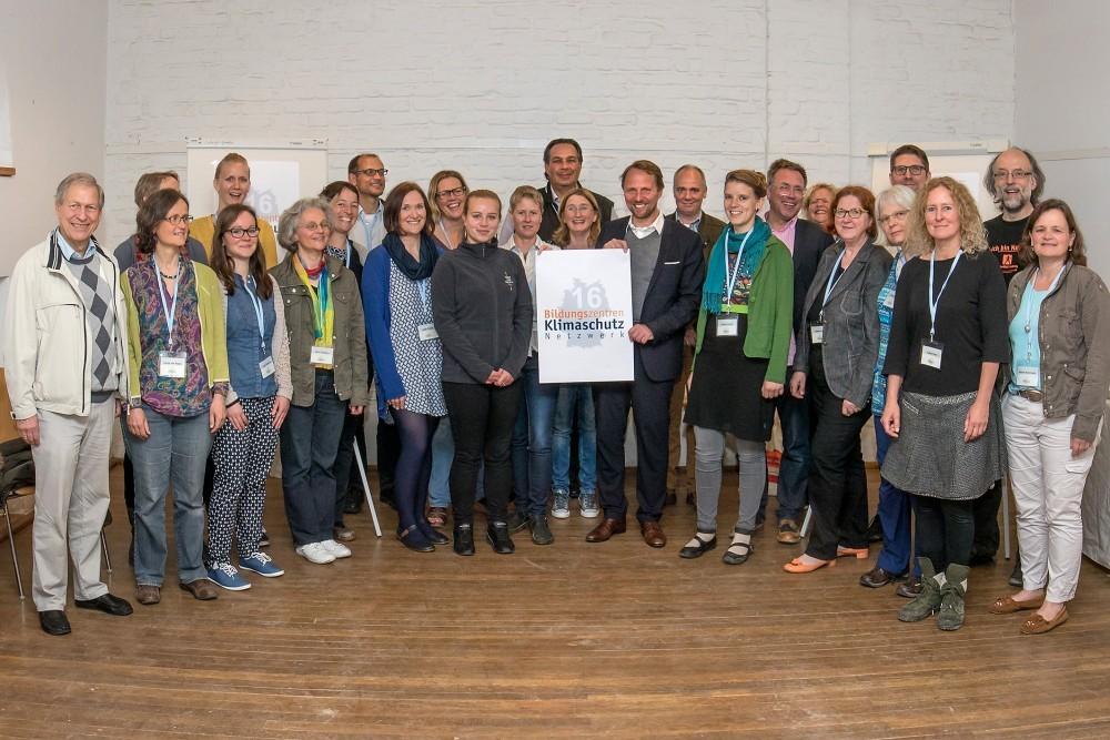 Auftaktveranstaltung zum Projekt am 18./19. Mai im Naturgut Ophoven mit Vertretern von allen Bildungszentren