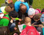 Sie lernten vieles über Amphibien, deren Lebensweise und deren Gefährdung.