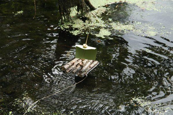 vorher auf dem Wasser austesten.