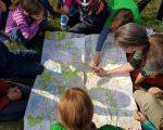 Blick in den Stadtplan - wer wohnt wo und welche Gewässer gibt es dort?