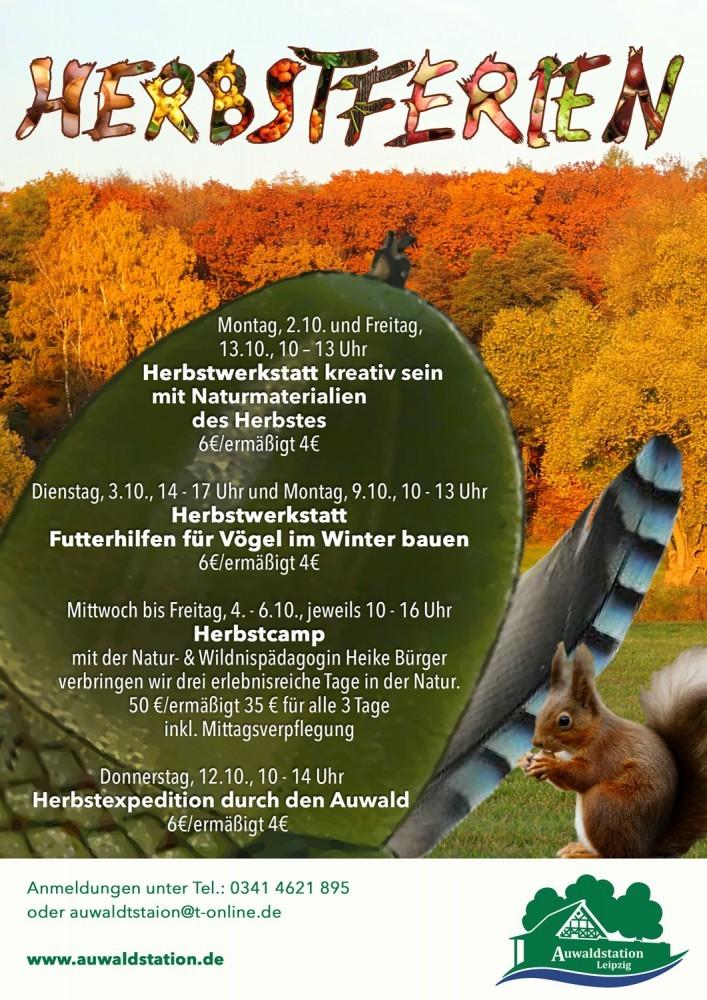 10-Herbstferien-Plakat