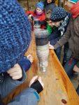 Experiment zur Filterfunktion des Bodens...