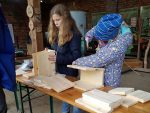 Am Nachmittag bauten die Kinder Nistkästen mit dem Nabu Leipzig.